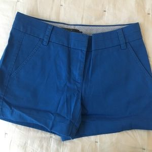 jcrew chino shorts 00 blue